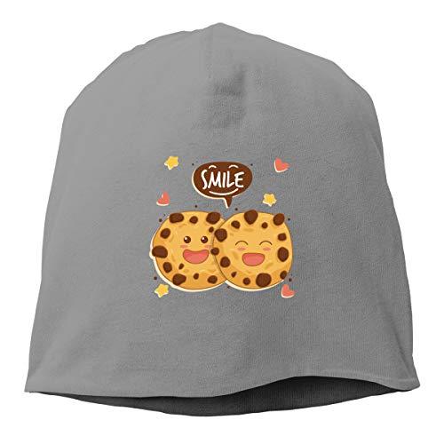 Kla Ju Man Skull Cap Beanie Funny Biscuits Headwear Knit Hat Warm Hip-hop Hat ()
