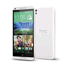 HTC Desire 816 Dual Sim 8GB Unlocked Android Smartphone Import, Retail Packaging, White