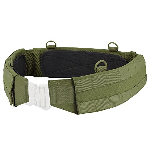 Condor Outdoor Slim Battle Belt (Olive Drab, Small)