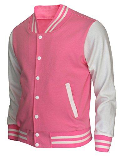 Pink Baseball Jacket - 3