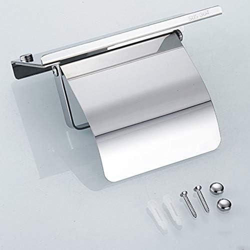 ステンレス鋼防錆ティッシュホルダー壁掛けハンギングラックロールペーパータオルホルダー浴室トイレホームサプライ