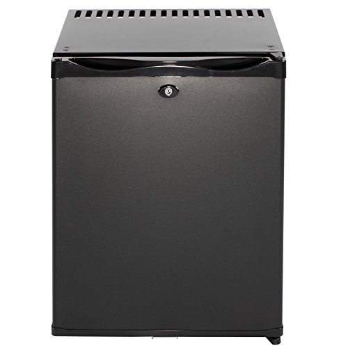(SMAD Table Top Absorption Refrigerator Minibar with Lock, 30 Litre,110V/12V)