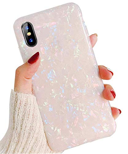 : KUMTZO Compatible for iPhone Xs Max case,Cute Girls Women Sparkling Shiny Soft TPU Silicone Back Cover for iPhone Xs Max 6.5 inch (2018 Release)_Colorful