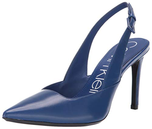(Calvin Klein Women's Rielle Pump, Royal Blue, 9 M US )