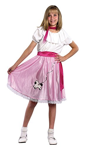Small 50's Girls Teeny Bopper Costume (Teeny Bopper Costume)
