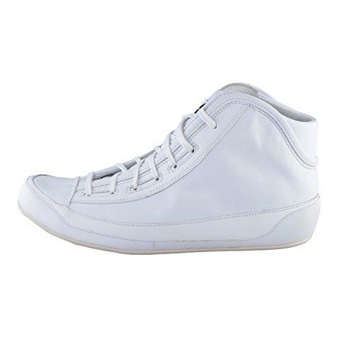 Adidas Kvinners Hvitt Skinn Hi Beste Mote Joggesko Sko Oss 6,5 Det 38
