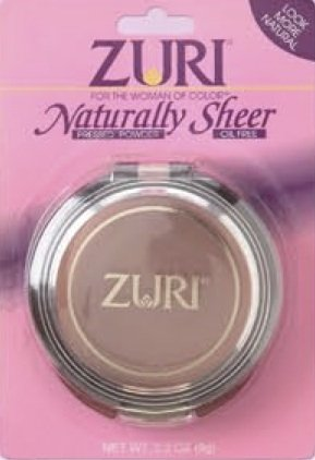 Zuri Naturally Sheer Pressed Powder Golden - Golden Ivory