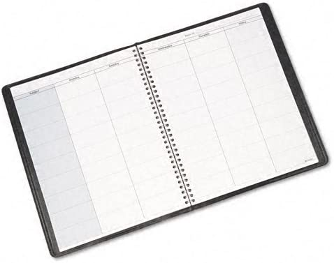 1 AT-A-GLANCE : Undated Teachers Planner 10-7//8 x 8-1//4 // Total of 2 Each Black -:- Sold as 2 Packs of