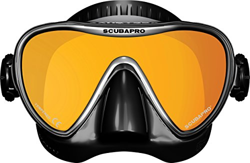 Mask Mirrored Lens (ScubaPro Synergy 2 TruFit Mirrored Single Lens Mask)