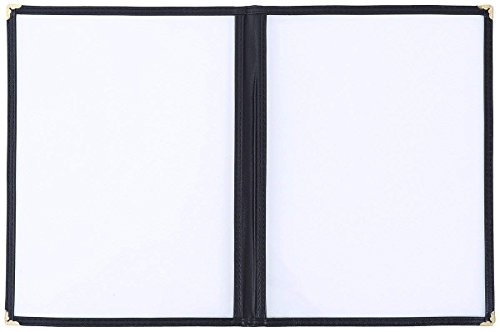 FLK Tech 10 Pack 4 View Restaurant Menu Covers/Fits 8 1/2