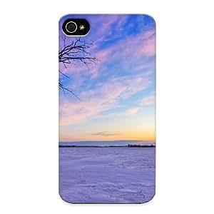Awesome WaEJv0vlpJQ Runandjump Defender Tpu Hard Case Cover For Iphone 4/4s- Hd Winter