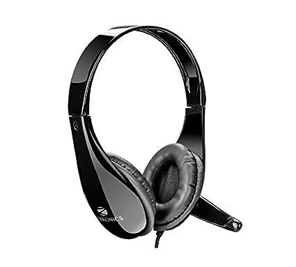 d8fb7be6b45 Zebronics ZEB-2200hmv Headphone Headset Dual 3.5mm Jack: Amazon.in:  Electronics