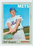 1970 Topps Baseball 371 Rod Gaspar New York Mets Excellent to Mint