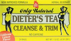 - Dieters Cleansing Tea Lemon 24 BAG by Only Natural