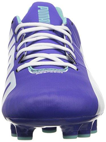 Puma Women's Evospeed 4.3 Firm-Ground Soccer Shoe Blue Iris/White/Aruba Blue G1ODyst9
