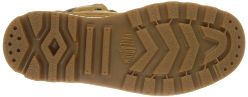 Palladium Pampa Sport Cuff WP - Náuticos de cuero unisex marrón - Braun (Amber Gold/Mid Gum)