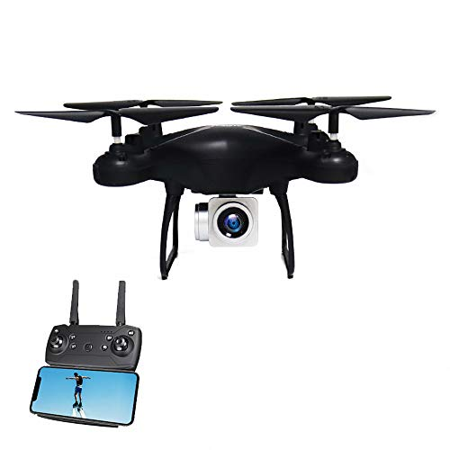 elegantstunning RC Quadcopter Helicopters 4-Axis Remote Control Quadcopter 1080P HD Camera 4CH Long Time Flying WiFi FPV Mini Drone Altitude Hold Headless Mode Black