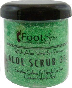 Foot Spa Aloe Scrub Gel (16 (Gel Foot Spa)