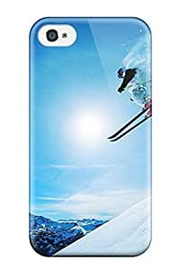 Andrew Cardin's Shop 1519686K83971570 New Fashion Premium Tpu Case Cover For Iphone 4/4s - Snowboarding