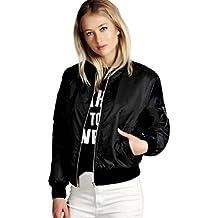 Jushye Hot Sale !!! Womens Jacket Coat, Ladies New Fashion Women Slim Biker Motorcycle Soft Zipper Short Coats Jacket