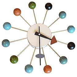 MLF® Nelson Multi-Color Ball Clock.