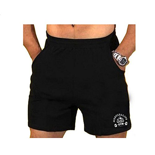 MUSCLE ALIVE Mens Workout Shorts Gym With 3″ 5″ 7″ Inseam For Fitness Bodybuilding Clothing