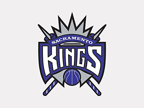 NBA Sacramento Kings Perfect Cut Color Decal, 4