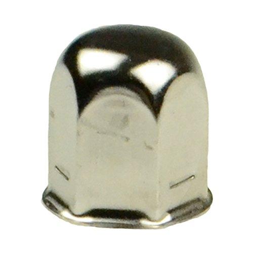 Dicor V195F9-EJN-MF Jam Nut with Cover - 27 mm, Chrome (Quantity 1) (Winnebago Parts)