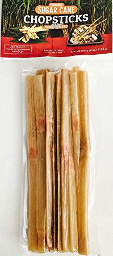 HAWAIIAN ORGANIC SUGAR CANE CHOPSTICKS/SWIZZLE STICKS(15+) 7