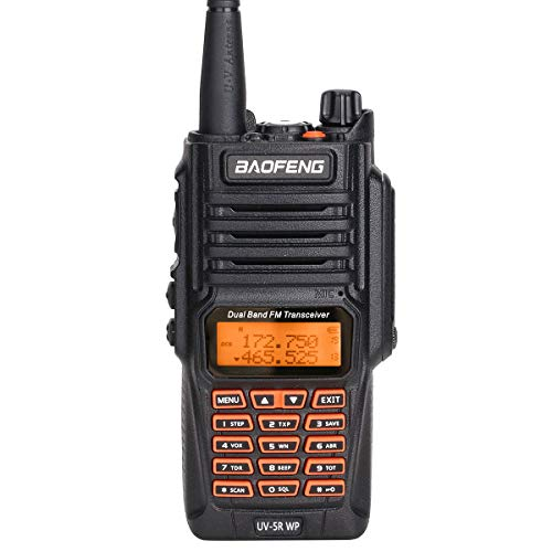 BAOFENG UV-5RWP IP67 Waterproof Dustproof Dual Band 136-174/400-520MHz VHF/UHF Transceiver Ham Two-Way ()