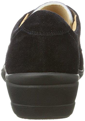 Ganter Zapatos Helga para h Mujer Schwarz de Derby Cordones Sensitiv Schwarz 0100 wtwfrqg