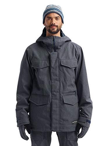 Burton Insulated Jackets - Burton Men's Men's Covert Jacket Slim, Denim, Medium