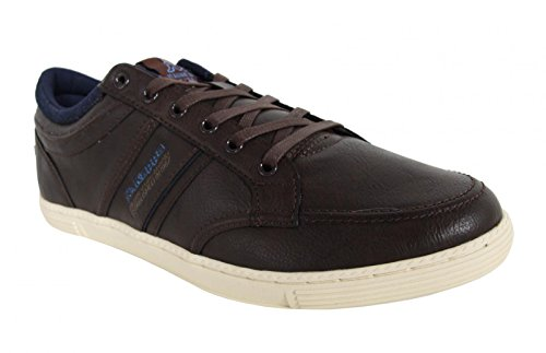 Schuhe für Herren KAPPA 303JSP0 CRANSTON 903 DK BROWN