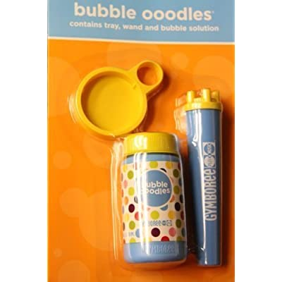 Gymboree Bubble Ooodles with Wand and Tray - 4oz by Gymboree: Toys & Games