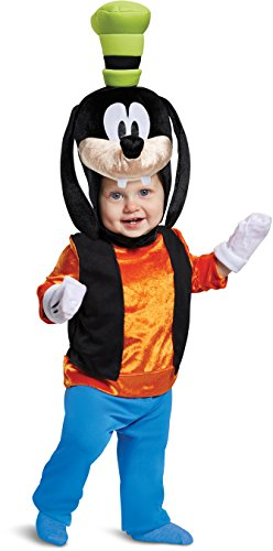 Disguise Baby Boys Goofy Classic Infant Costume, Orange, 12-18m -