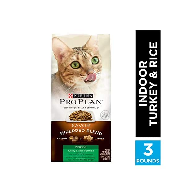 Purina Pro Plan Indoor Care Adult Dry Cat Food & Wet Cat Food