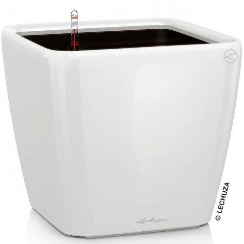 LECHUZA Quadro Premium 50 LS Komplettset Weiß