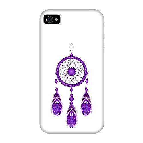 Coque Apple Iphone 4-4s - Attrapeur de rêves violet