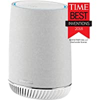 Netgear Orbi Voice Whole Home Mesh WiFi Satellite Extender with Amazon Alexa and Harman Kardon Speaker Built in, AC2200 (RBS40V)