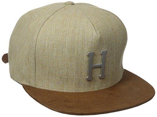 Metal H strapback tan