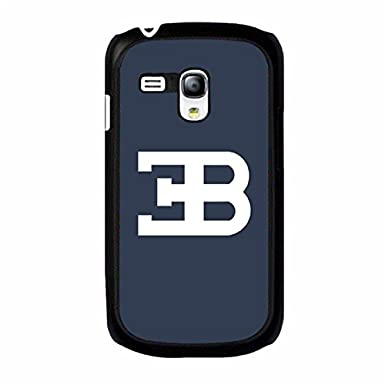 bugatti veyron car brand logo cell phone case snap on samsung galaxy