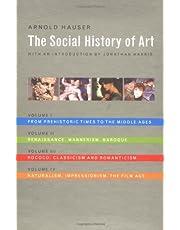 The Social History of Art (4 Vol. Set)