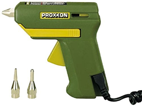 Tools Centre Mini/Pocket Glue Gun With Two Additional Nozzle & Four Glue Stick By Proxxon Gmbh