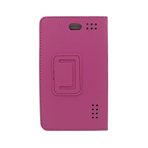 Transwon 7 Inch Phablet Case Compatible with Tagital 7 Quad Core 3G Phablet, Yuntab E706, Padgene 7 Inch 8GB, Hoozo/Wecool/Victbing/Winsing/Lectrus 7, Fusion5 F704B, BLU Touchbook M7 - Magenta