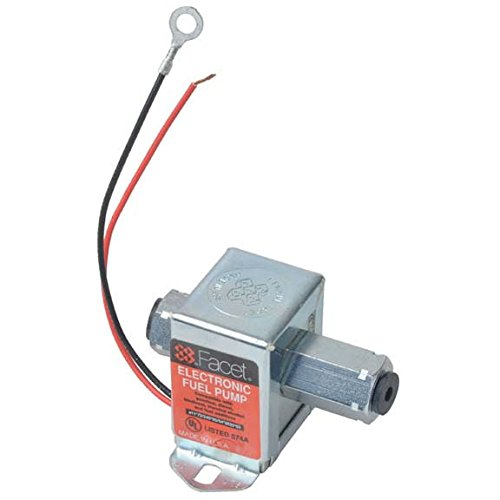 (40176 Facet Cube Solid State Fuel Pump, 12 Volt, 3.5-5.0 PSI, 19 GPH)