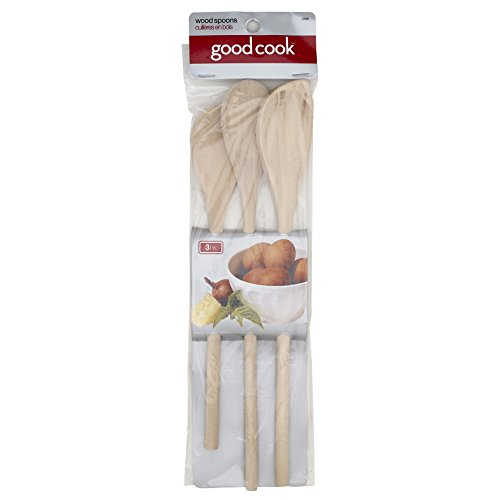 Good Cook Classic Set of 3 Wood Spoons, One Size