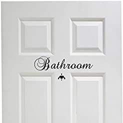 Bathroom Vinyl Decal Decor Vinyl Wall De...
