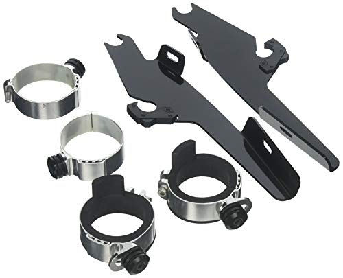 Memphis Shades MEM8992 Black Trigger-Lock Mount Kit fits Yamaha XVS650/1100A V-Star Classic Models 1998-2015
