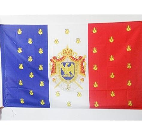 AZ FLAG Bandera del ESTANDARTE Imperial DE NAPOLEÓN III 150x90cm para Palo - Bandera Napoleon Bonaparte 90 x 150 cm: Amazon.es: Hogar