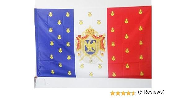 AZ FLAG Bandera del ESTANDARTE Imperial DE NAPOLEÓN III 150x90cm ...